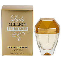 Тестер парфюмированной воды ОАЭ  Paco Rabanne Lady Million Eau My Gold