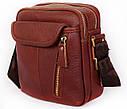 Многофункциональна мужская сумка из натуральной кожи 30114, фото 3