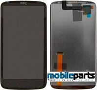 Оригинальный  дисплей (модуль) + сенсор (тачскрин) для HTC Sensation XE | G18 | Z715e (черный)