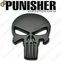 "Эмблема Каратель - ""Punisher"" - 5.7 х 4 см., фото 1"