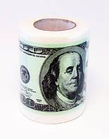 Бумага туалетная 100 долларов