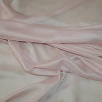 Тюль вуаль-шелк, турция, цвет палево-розовый