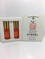 Женская парфюмированная вода Coco Mademoiselle Chanel в подарочной упаковке 2х20 ml RHA