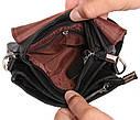 Горизонтальная мужская сумка для карманных вещей из  натуральной кожи 300145, фото 8