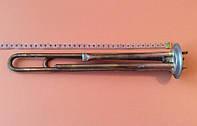 Тэн двойной для бойлеров Thermex 2000W из МЕДИ (на фланце Ø63мм) c 2 трубками под термодатчики     FER, Турция, фото 1