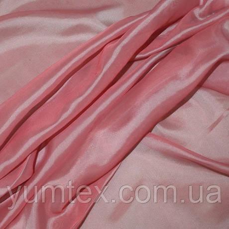 Тюль вуаль-шелк, турция, цвет герань