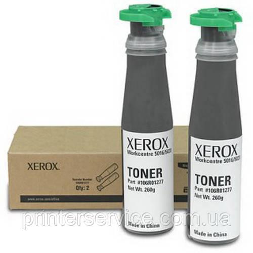 Черный тонер-картридж Xerox 106R01277 для WC 5020 на 2х6300 стр