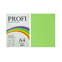 Бумага цветная PROFI А4. 80г (100л) Cyber Green N 321 (неон зеленый)
