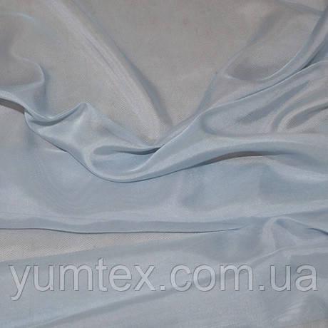 Тюль вуаль-шелк, турция, цвет светло-голубой