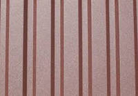Профнастил ПС-10, ПК-20, ПК-35, толщина 0,5мм, RAL 8017(коричневый)PEMA металл производства Германия