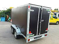 Прицеп фургон 3.05м х 1,55м х 1,6м. Тормоза!, фото 1