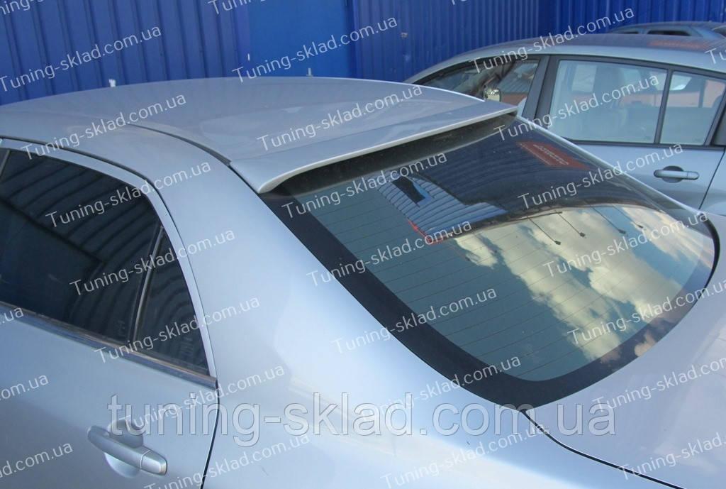 Спойлер на стекло Toyota Corolla X E150 (спойлер заднего стекла Тойота Королла 10 Е150) - Интернет магазин тюнинга Tuning-sklad в Днепре