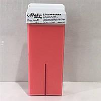 Воск для депиляции кассета 100g роза