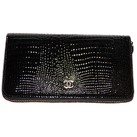Кошелек женский Chanel (кожа), 115-BLACK Черный, размер 183*90*25