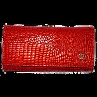 Кошелек женский Chanel (кожа), 118-RED Алый, размер 19*10*2,5