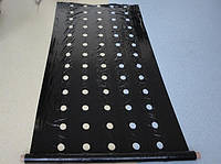 Плёнка мульчирующая черная с перфорацией 30 х 25 см, 25 мкм, 1,2 м х 1000 м - Израиль