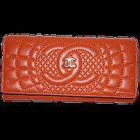 Кошелек женский Chanel (кожа), 164-4-ORANGE