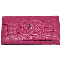 Кошелек женский Chanel (кожа), 164-5-crimson