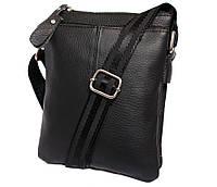 Мужская сумка компактного размера выполнена из натуральной кожи 300129, фото 1