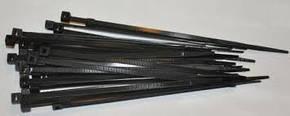 Стяжки 4х300мм черн, фото 2