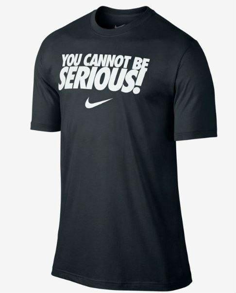 Чоловіча футболка Nike Serious