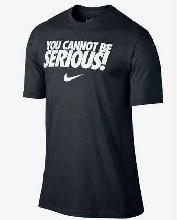 Чоловіча футболка Nike Serious, фото 2