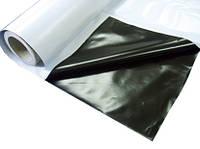 Плёнка мульчирующая чёрно-серебристая, 25 мкм, 1,2 м  х 1000 м - Израиль