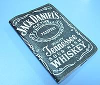 Кожаная обложка на паспорт Джек Дэниэлс