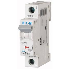 Автоматические выключатели однополюсные Eaton (Moeller)