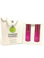 Женская парфюмированная вода Chanel Chance Eau Fraiche в подарочной упаковке 2х20 ml RHA