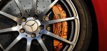 Диски и шины на Mercedes Benz