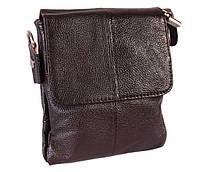 Мужская кожаная сумка со сьемным плечевом ремнем 300148