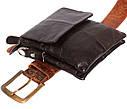 Мужская кожаная сумка со съемным плечевым ремнем 300148, фото 7