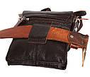 Мужская кожаная сумка со съемным плечевым ремнем 300148, фото 8