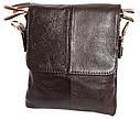 Мужская кожаная сумка со съемным плечевым ремнем 300148, фото 4