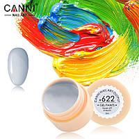 Гель-краска Canni №622 серо-белая