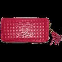 Кошелек женский Chanel (кожа), 60017-crimson