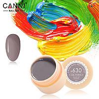 Гель-краска Canni №630 светлая коричнево-серая