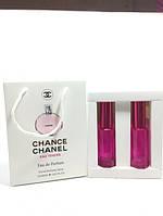 Женская парфюмированная вода Chanel Chance Eau Tendre в подарочной упаковке 2х20 ml RHA