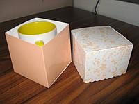 Коробка для чашки, картонная
