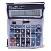 Калькулятор Kadio 018 B. Канцтовары. Офисная техника. Калькулятор финансовый, настольный