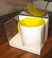 Коробка для чашки, прозрачное ПВХ
