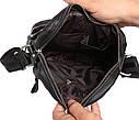 Мужская сумка черного цвета из натуральной кожи 300123, фото 7