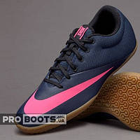 Футзалки Nike MercurialX Pro IC Navy Blue