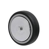 Аппаратные колеса на резиновом Light ходу без кронштейна с подшипником скольжения Ø 50,75,100,125мм