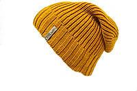 Вязаная шапка на холодную погоду