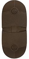 "Набойка Темпо (""TOPY"", Франция) р. 174 т. 6,5 мм цвет коричневый"