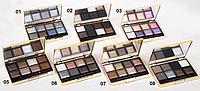 Компактные тени для век Miss Madonna 8 оттенков EM208 MUS /57-2