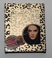 Тени для век FLORRES London Cosmetics 12 color eyeshadow and 3 blusher ROM /2-2