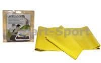 Ленточный эспандер замкнутый (р-р 208см*15см*0,35мм) FI-2435 (латекс, желтый)